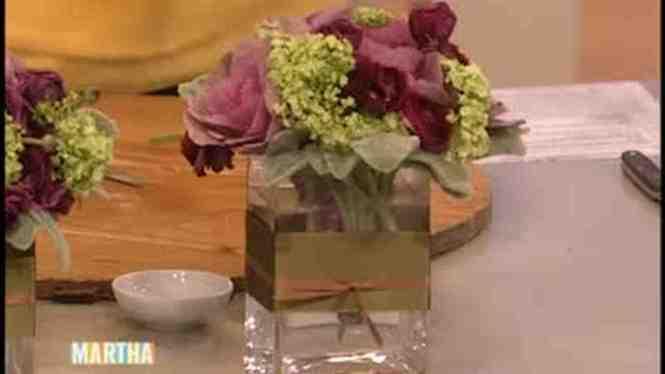 Crafted Bouquet Martha Stewart Weddings