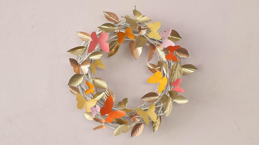 Video Spring Wreath Martha Stewart