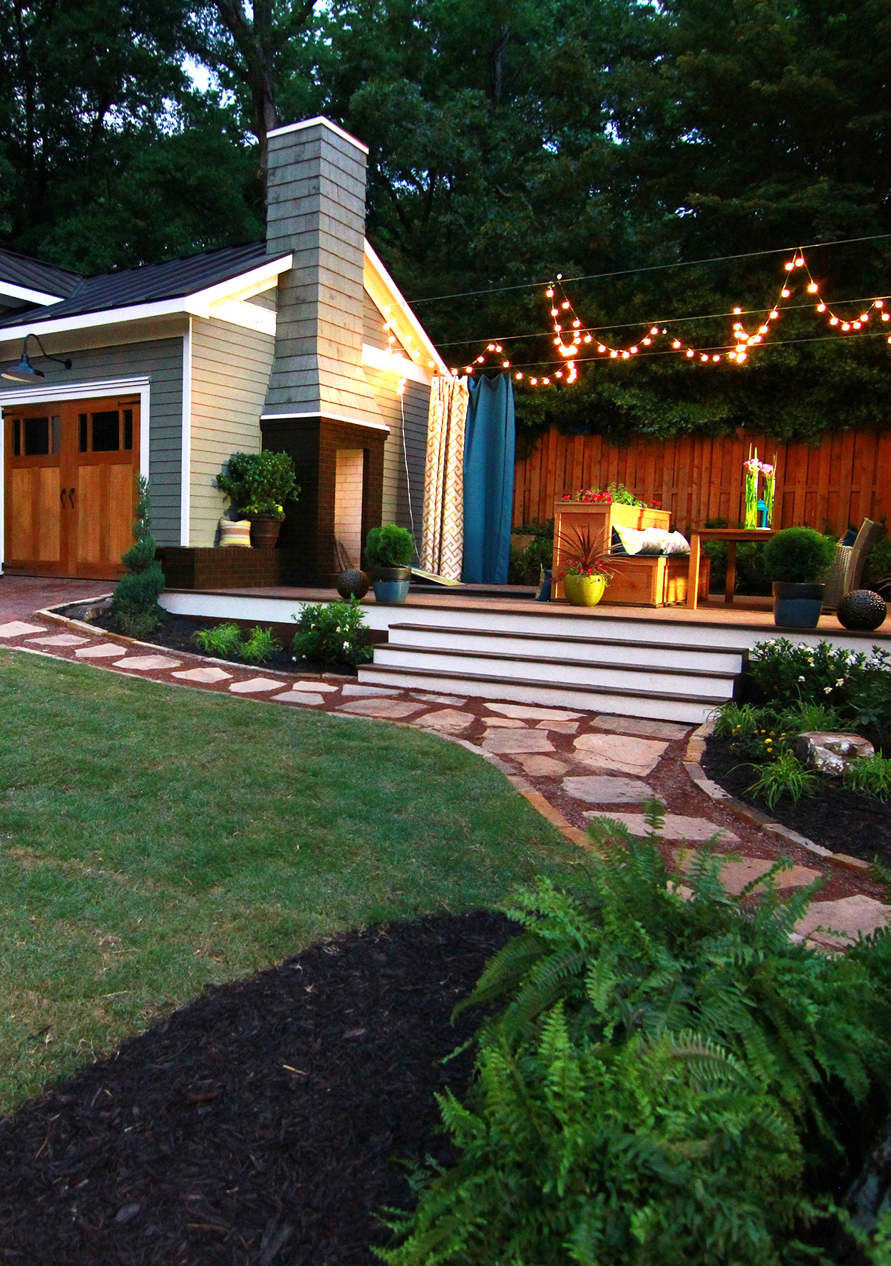 How to Turn a Small Backyard into an Entertaining Oasis ... on My Garden Outdoor Living id=47055