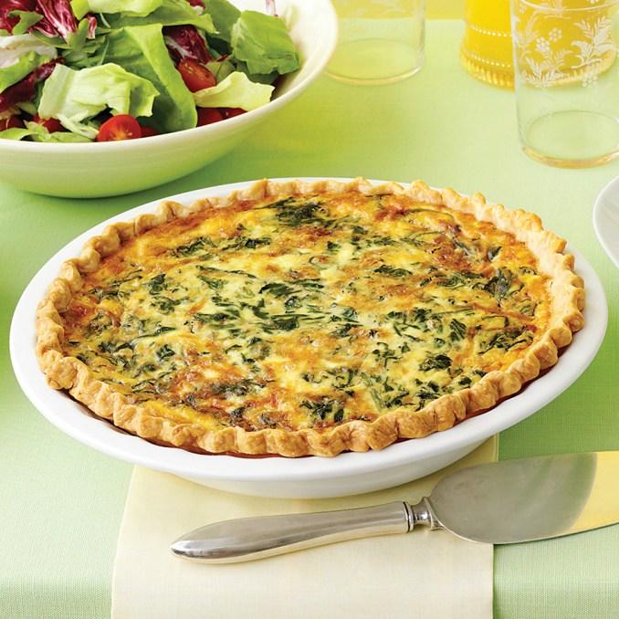 Spinach and Gruyere Quiches Recipe   Martha Stewart
