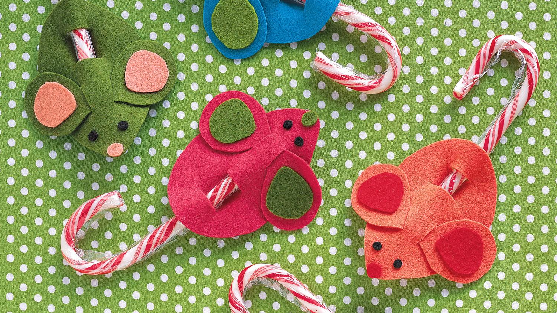 Candy Cane Mice Amp Video Martha Stewart