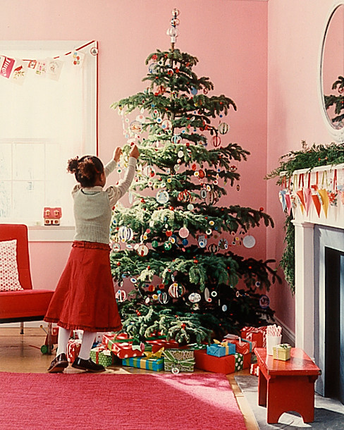Martha Stewart Tree Decorating