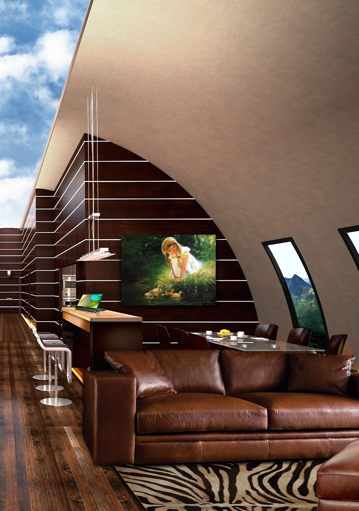 Ride Out The Apocalypse In A Luxury Underground Bunker