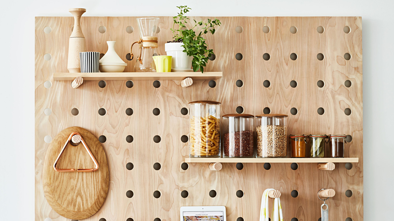 Small Kitchen Organizing Idea