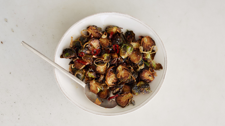 Fried Brussels Sprouts Recipe Martha Stewart