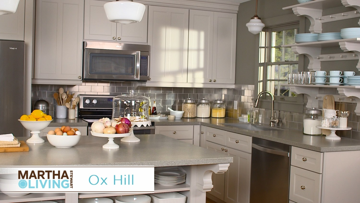 Video: New Martha Stewart Living Kitchens At The Home