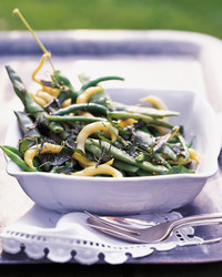 French Cut Green Beans With Dill Butter