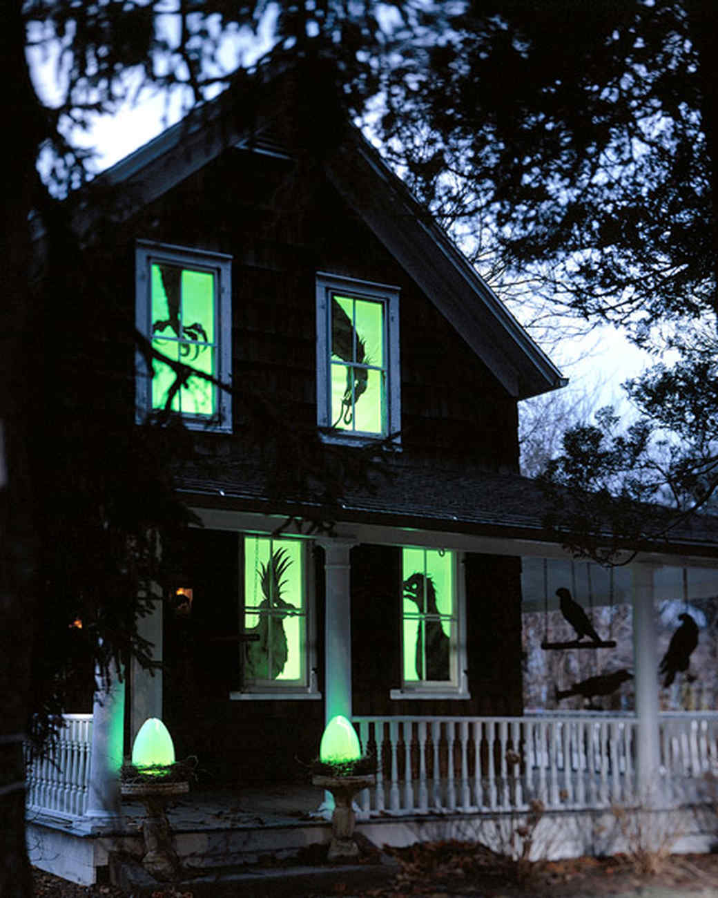 images of outdoor halloween decorations