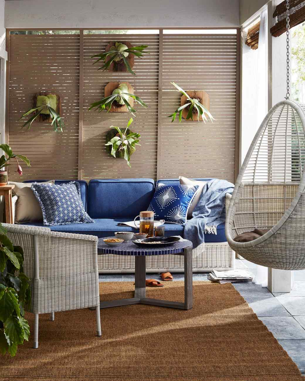 9 Essential Pieces for Luxurious Outdoor Living | Martha ... on Martha Living Patio id=69758
