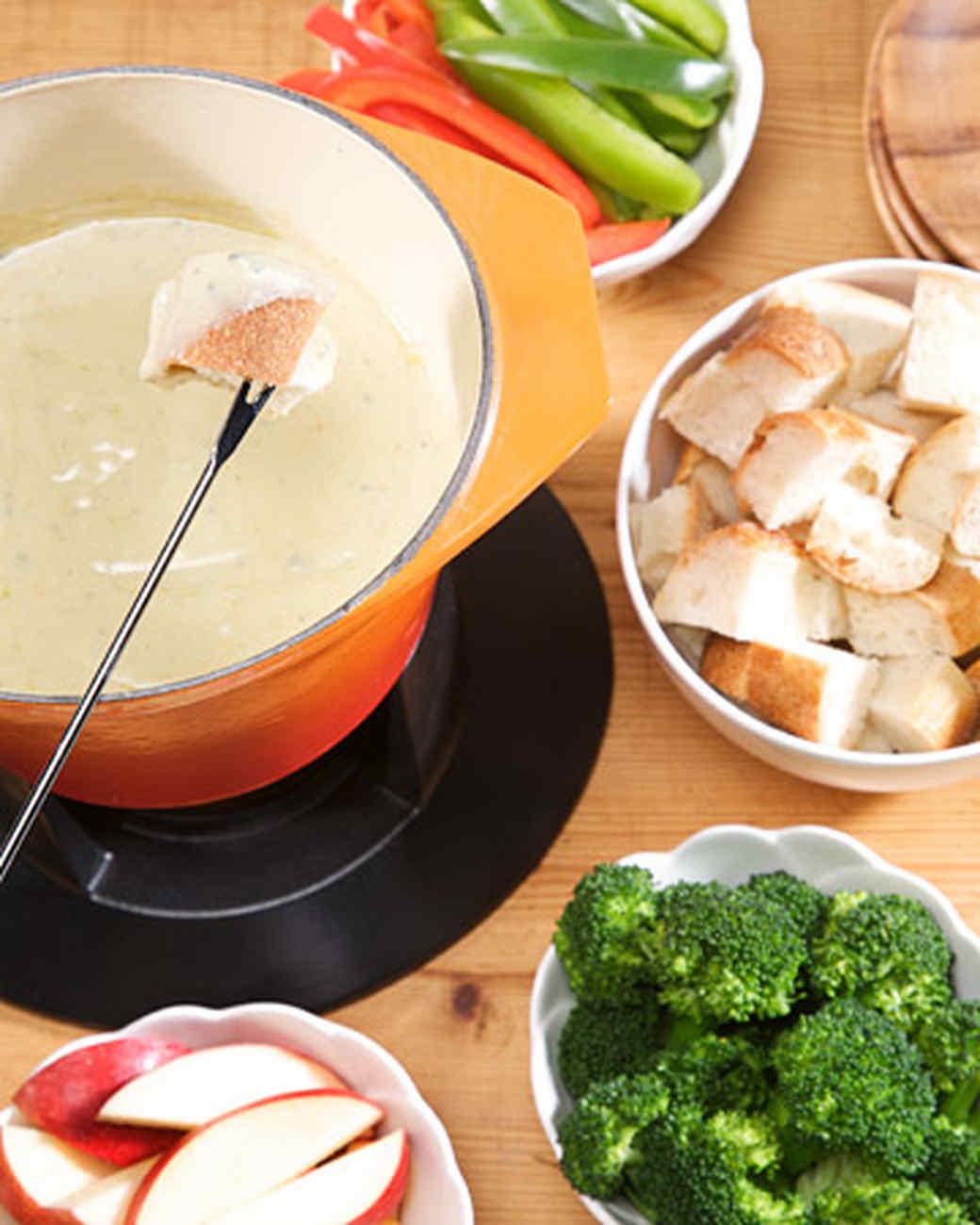 Fondue Recipes Martha Stewart