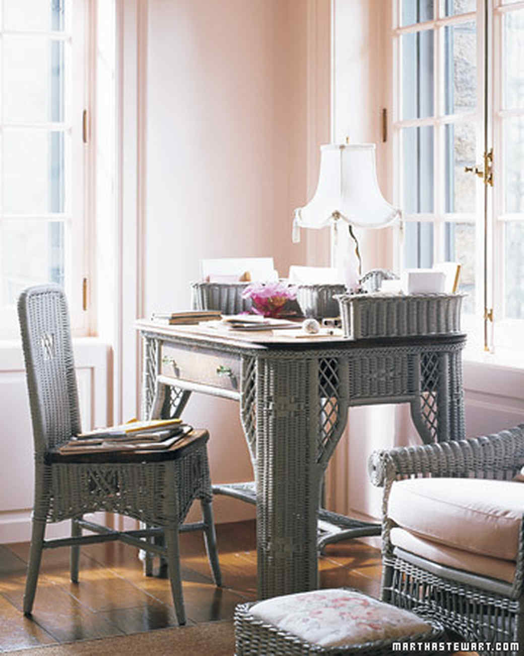 Best of Living's Colorful Rooms | Martha Stewart on Martha Stewart Wicker id=66718