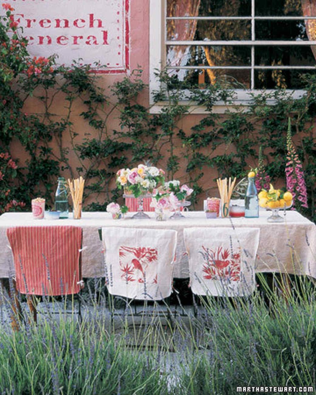 outdoor garden party ideas Outdoor Party Ideas | Martha Stewart