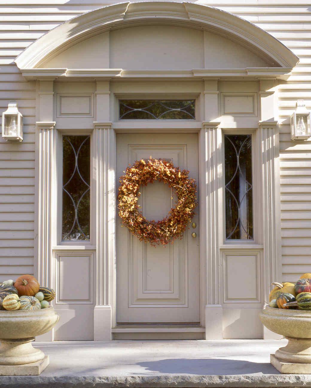 Bittersweet Autumn Wreath Martha Stewart
