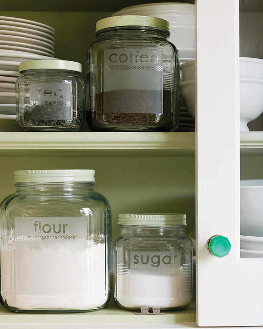 Kitchen Organizing Tips Martha Stewart