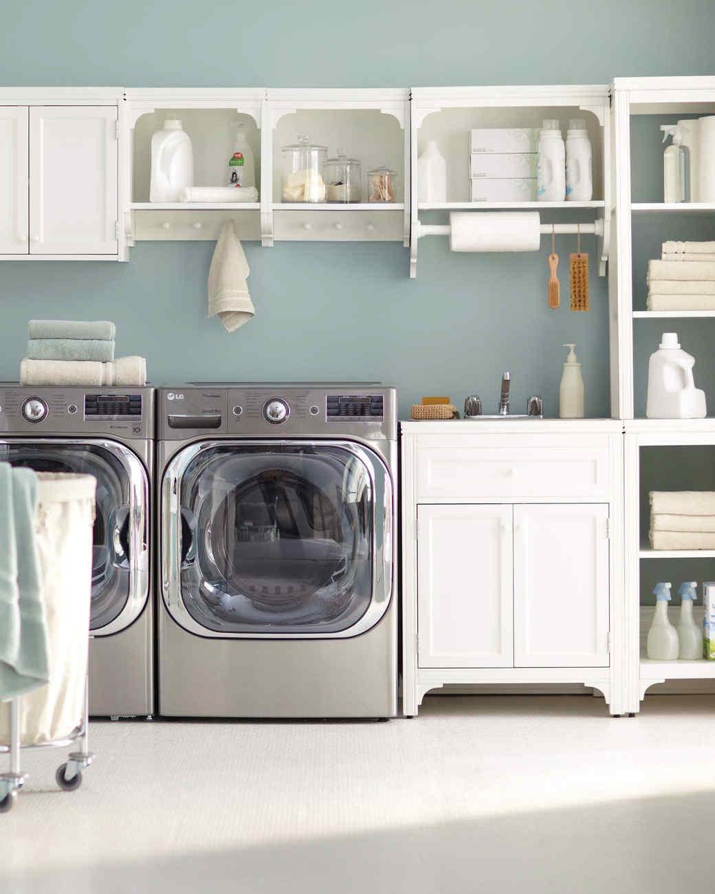 12 Essential Laundry-Room Organizing Ideas | Martha Stewart on Laundry Room Organization Ideas  id=78613