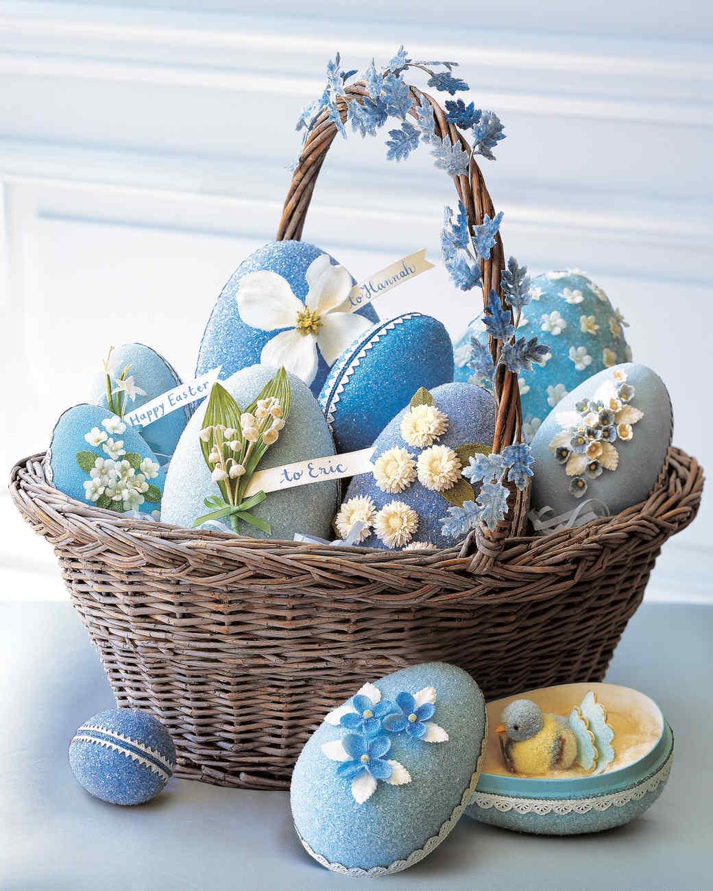 Vintage Easter Basket Chocolates