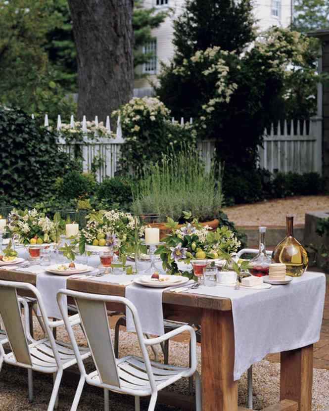 A Day At The Beach Inspired Outdoor Party