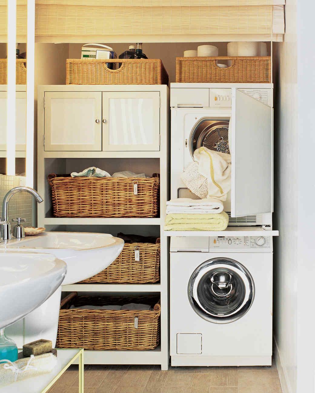 12 Essential Laundry-Room Organizing Ideas | Martha Stewart on Laundry Room Organization Ideas  id=50145