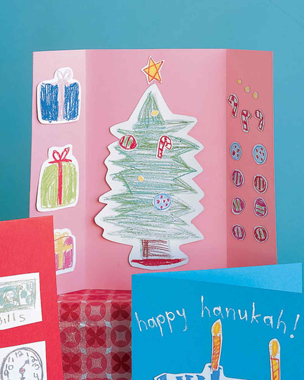 Christmas Cards For Kids Martha Stewart