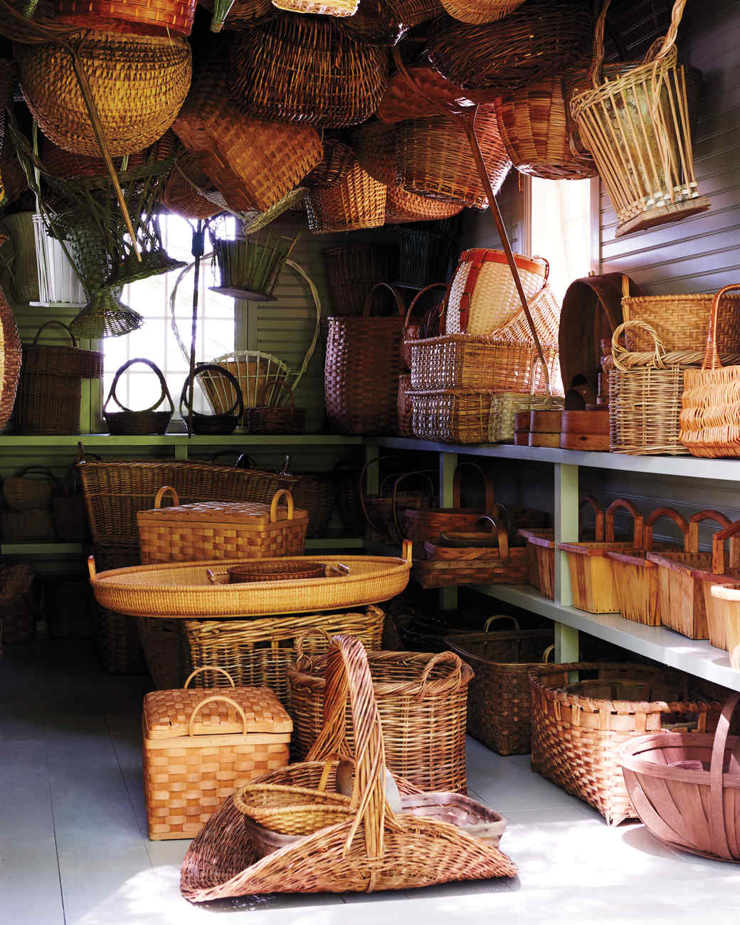 Baskets The Perfect Foundation For Rustic Thanksgiving