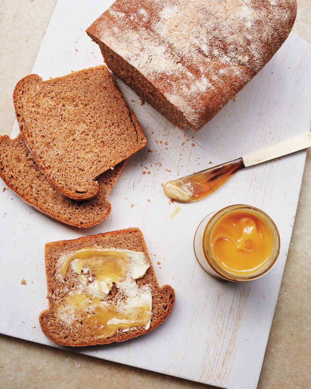 Honey WholeWheat Bread
