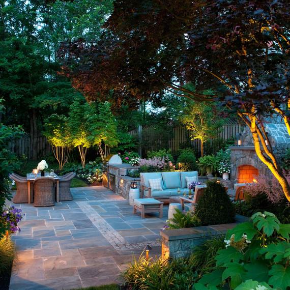 Outside Landscape Design