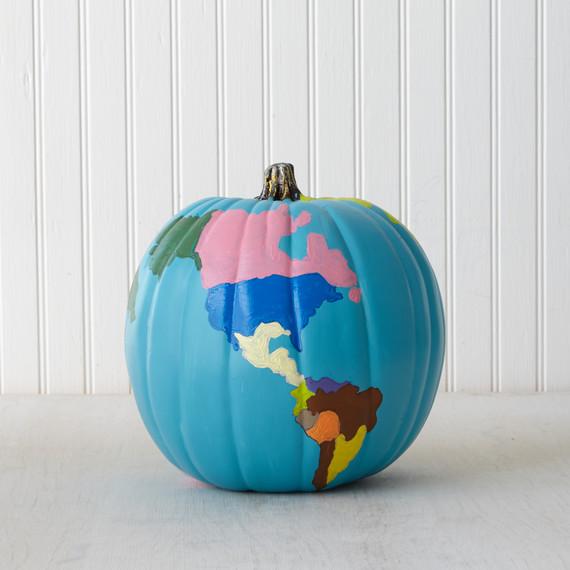 Pumpkin Decorating The Globe Martha Stewart