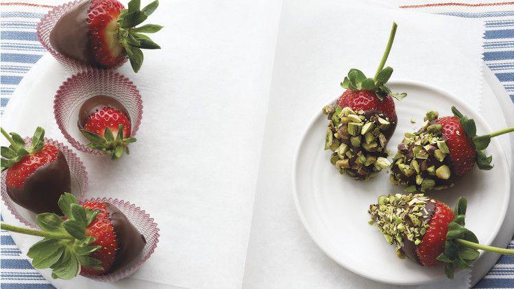 Chocolate Covered Strawberries Recipe Amp Video Martha Stewart