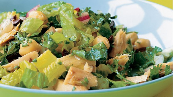 Chopped Salad with Tuna
