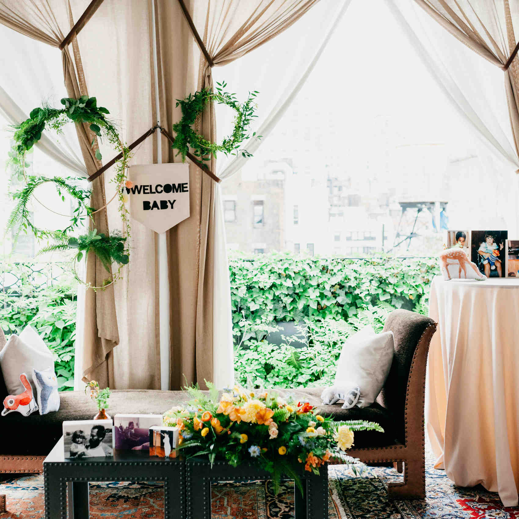 A Woodland Baby Shower With Ideas From Designer Michelle