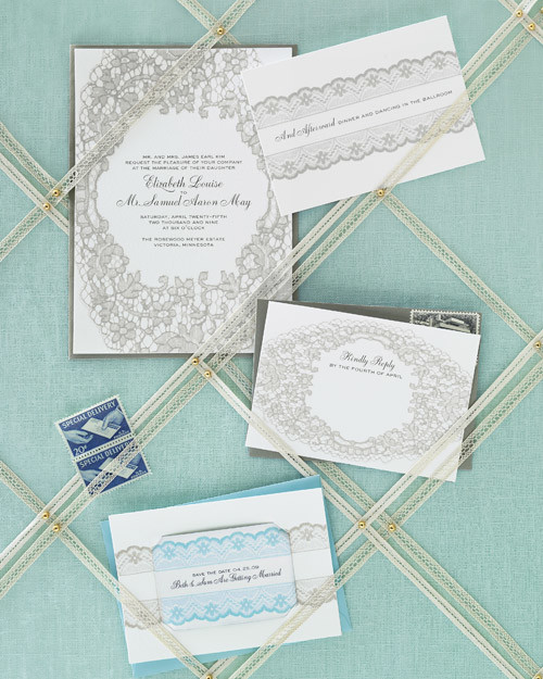 Martha Stewart Wedding Invitation Wording