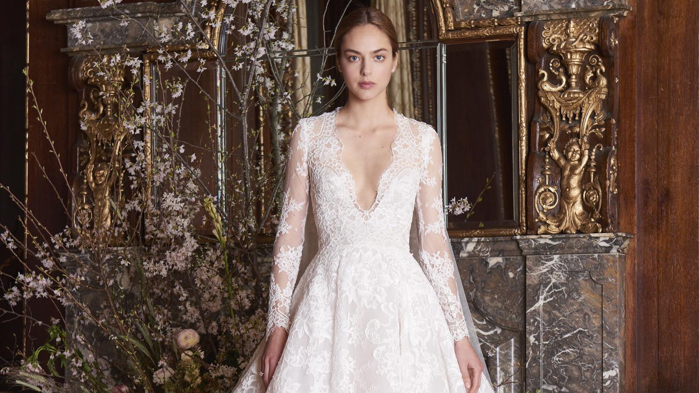 Long-Sleeved Wedding Dresses We Love