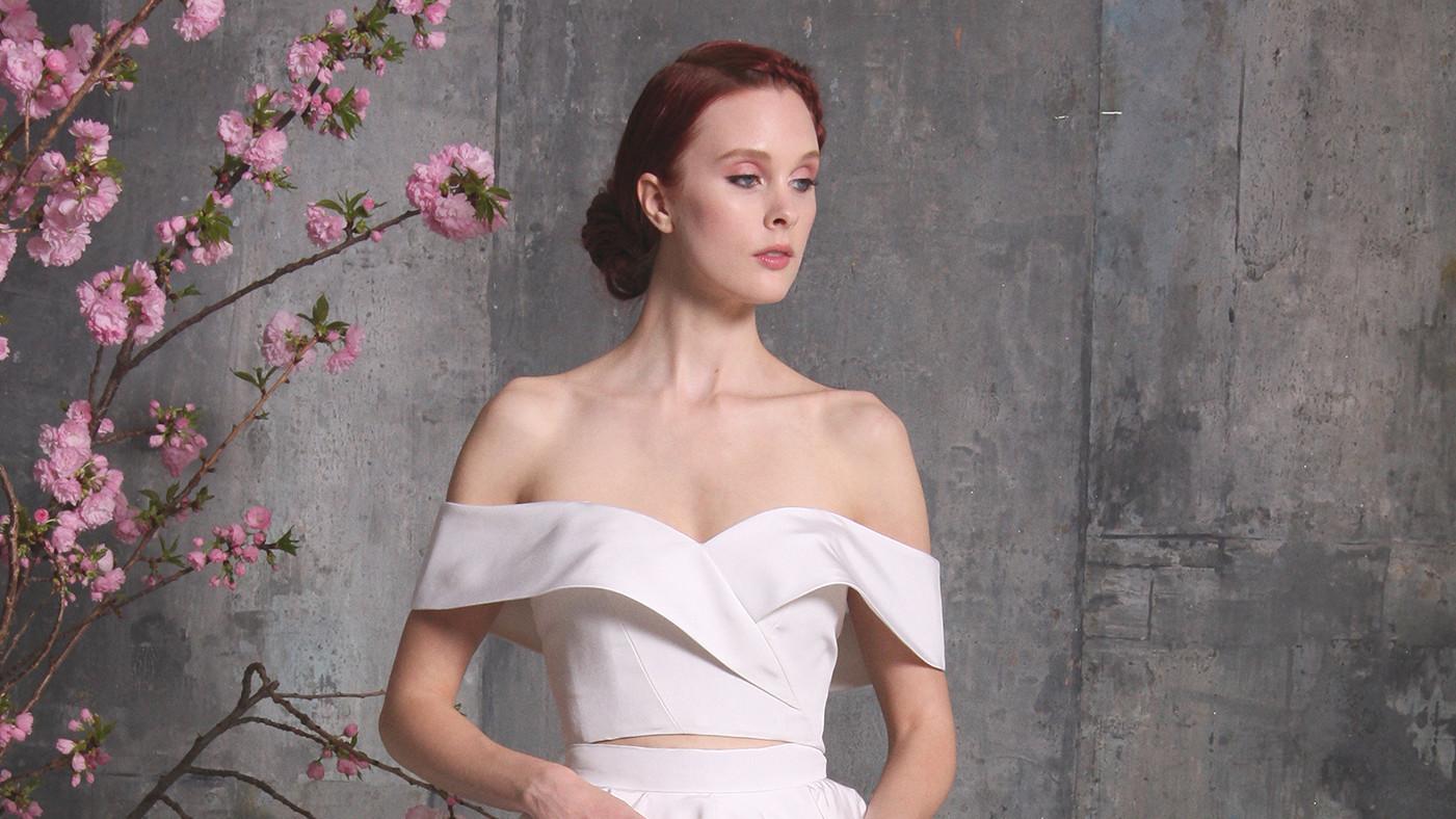 28 Two-Piece Wedding Dresses