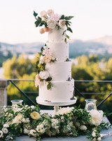 50 Beautiful Wedding Cakes That Are  Almost   Too Pretty to Eat     jeannette taylor wedding portugal cake