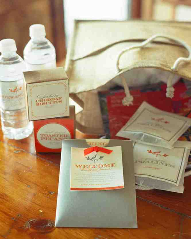 Beautiful Wedding Welcome Bag Ideas With Favor And Texas
