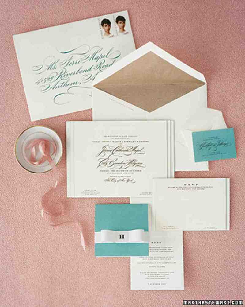Wedding Invitation No Inner Envelope Addressing Etiquette ...