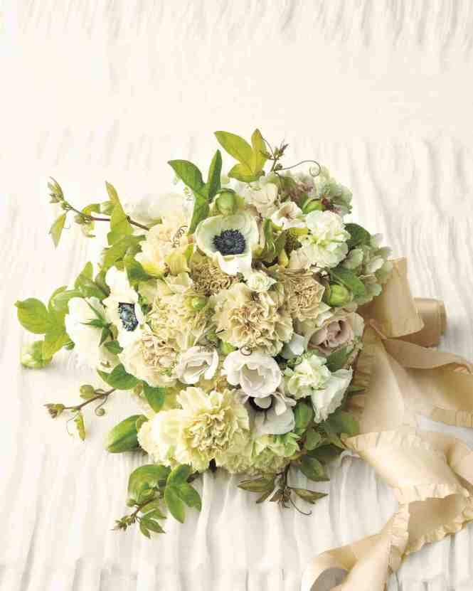 Zinnia Wedding Bouquets Martha Stewart The Knot