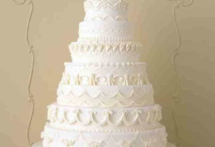 Traditional Wedding Cakes Martha Stewart Weddings