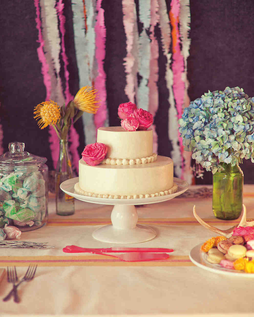 Beautiful Buttercream Wedding Cakes