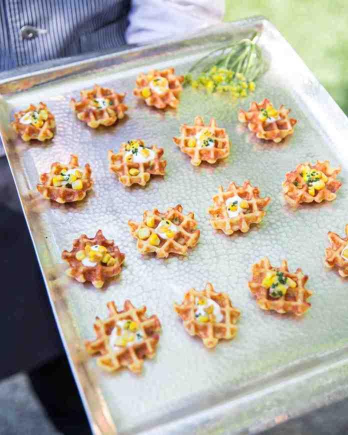 mini savory waffles