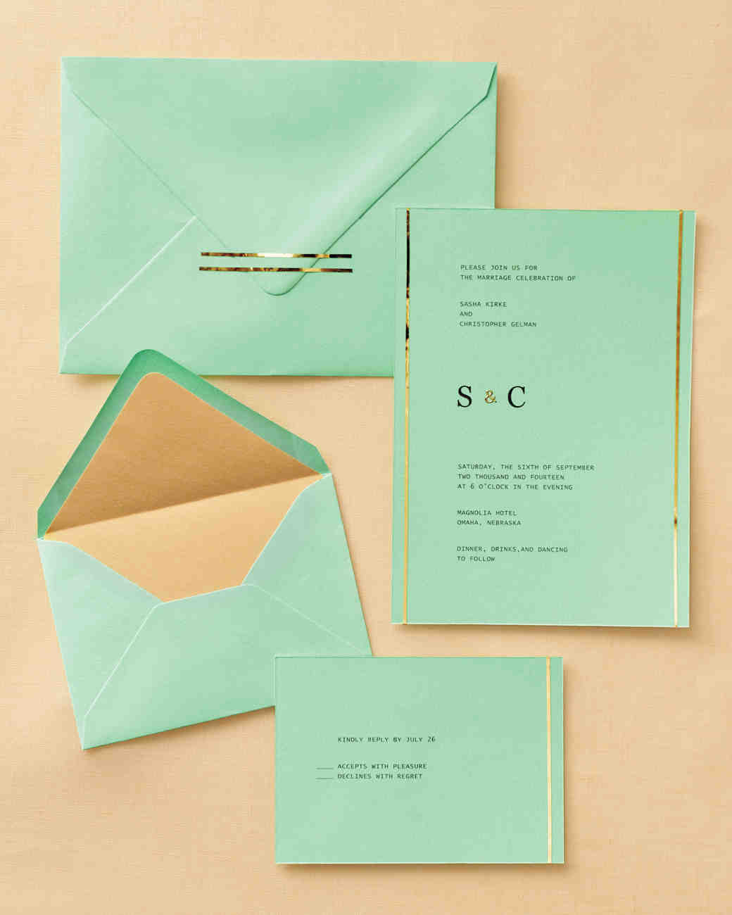 Martha Stewart Wedding Handkerchief