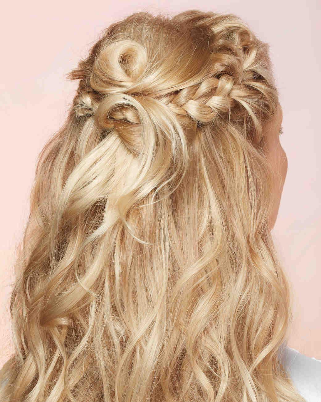 DIY Wedding Hairstyles Martha Stewart Weddings