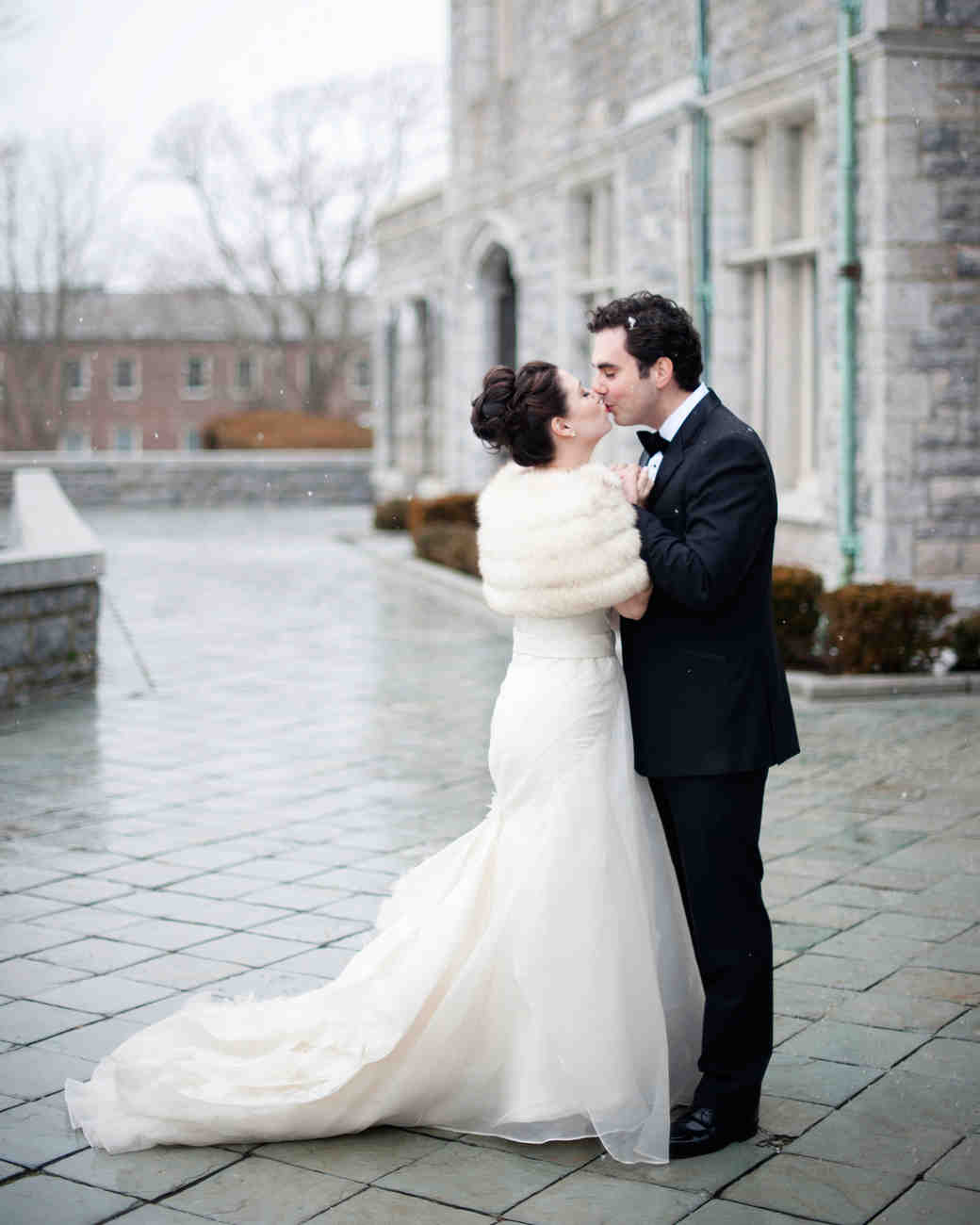 An Intimate Formal Winter Wedding In Connecticut Martha