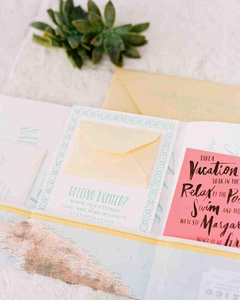 Beach Wedding Invitations That Set The Mood For A Seaside Celebration Martha Stewart Weddings