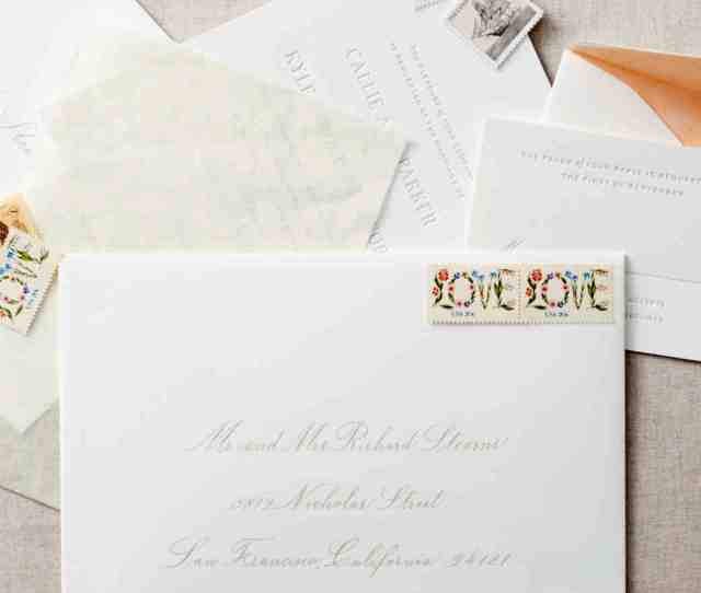 Guests Names Though Etiquette For Addressing And Assembling Wedding Invitations
