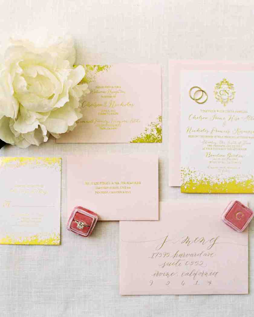 Paper Protocol Experts Share Their Best Wedding Invitation Advice Martha Stewart Weddings