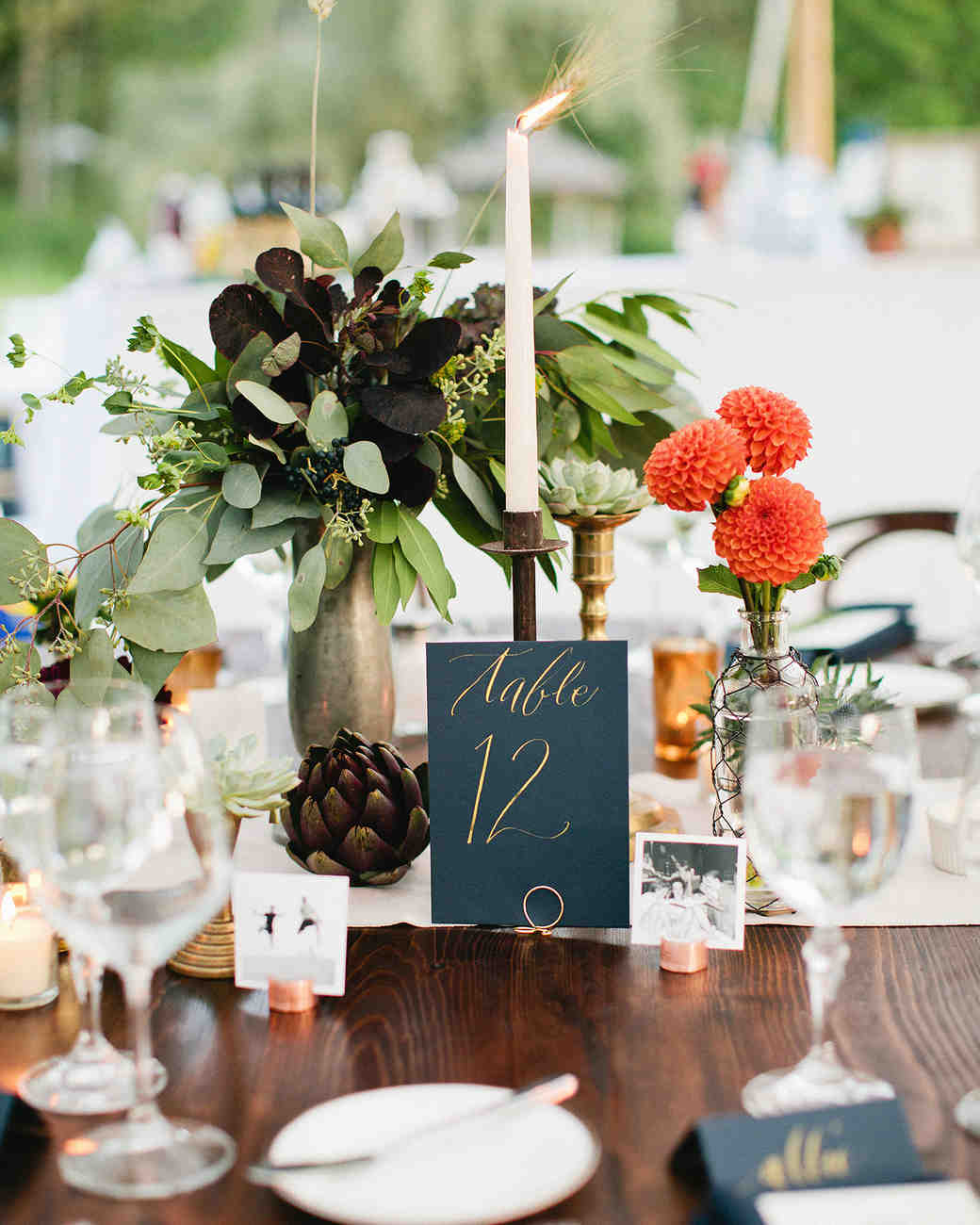 Formal table decoration ideas