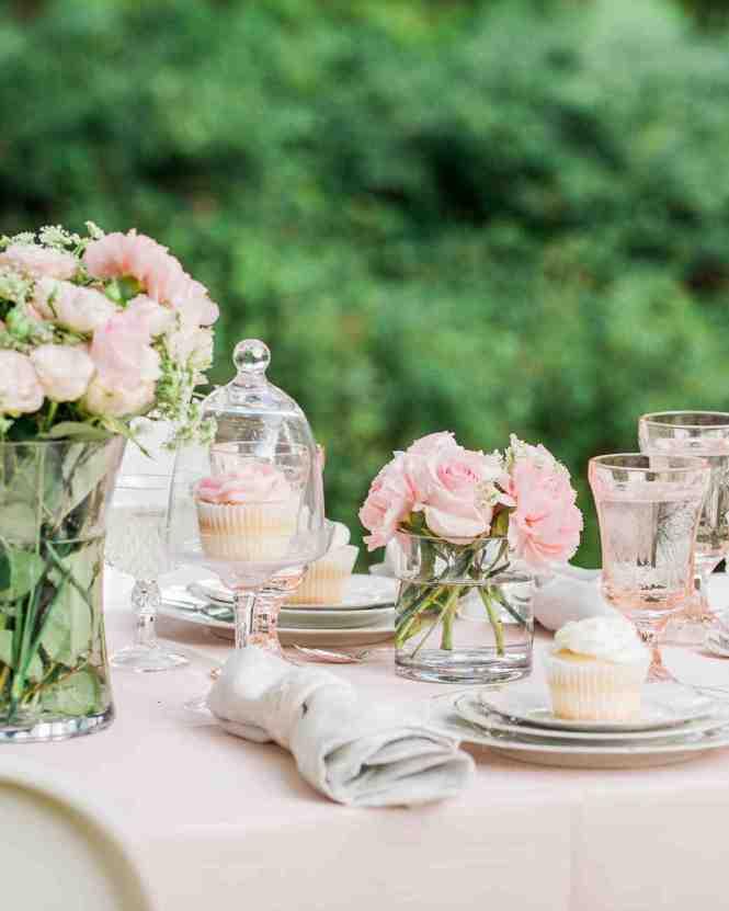 Hot Pink Garden Bridal Shower Ideas Via Theeld Com