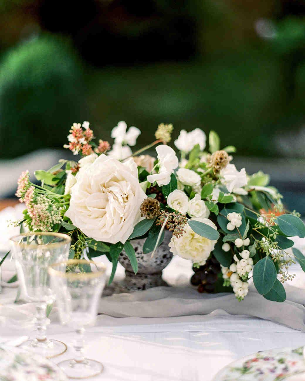 Center Arrangements Weddings