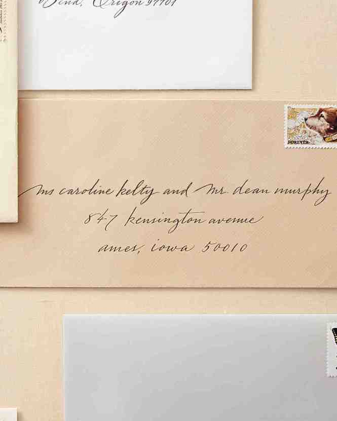 Wedding Invitation Envelope Etiquette Is One Of The Best Idea For You To Make Your Own Design 1
